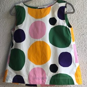 MARiMEKKO for UNIQLO A-Line Cotton Tank -XS